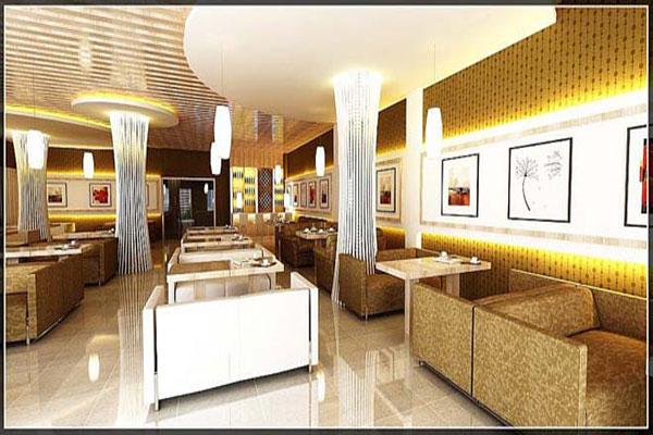 Thiết kế quán cafe văn phòng mẫu 04