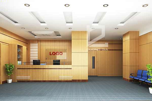 Nội thất Dương Gia là đơn vị thiết kế quầy lễ tân văn phòng chuyên nghiệp