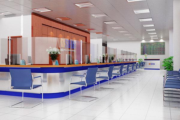 Thiết kế văn phòng giao dịch tạo sự sinh động, ấn tượng
