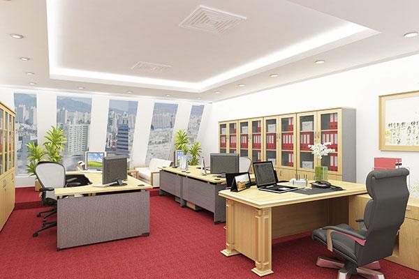 Thiết kế văn phòng làm việc công ty tại Hà Nội