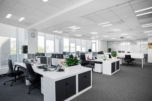 Thiết kế văn phòng ngân hàng với những nội thất phù hợp, bố trí khoa học
