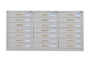Tủ sắt văn phòng TU118-21D giúp phân loại hồ sơ tốt