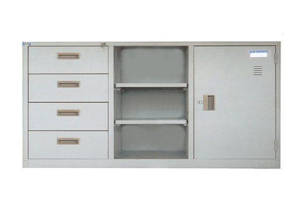 Tủ sắt văn phòng TU118-4D tiêu chuẩn, giá rẻ