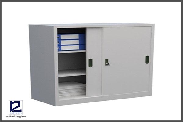 Tủ sắt văn phòng TU118S đơn giản, tiện nghi