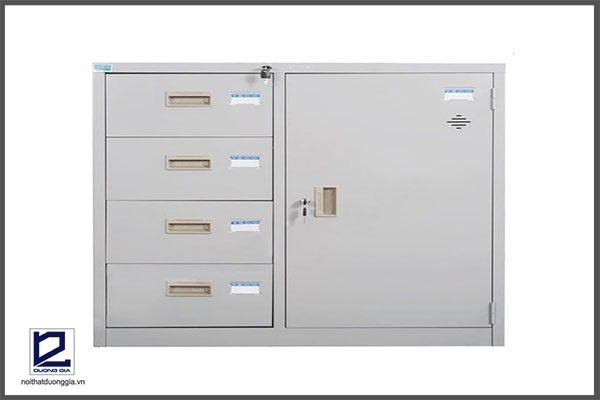 Tủ sắt văn phòng TU88-4D chính hãng, giá rẻ