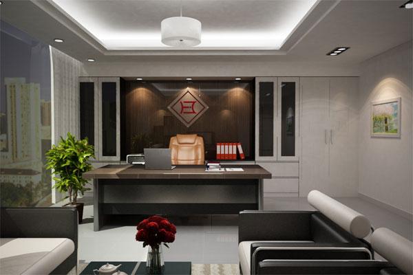 Thiết kế nội thất văn phòng tại Bắc Giang