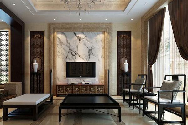 Thiết kế nội thất theo phong cách Á Đông sử dụng nội thất đơn giản, tinh tế