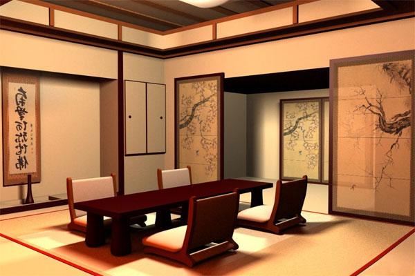 Thiết kế nội thất theo phong cách Nhật Bản với sự đơn giản