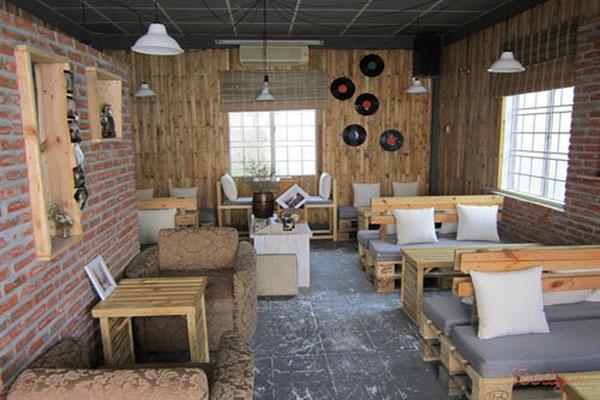 Thiết kế nội thất quán cafe độc đáo