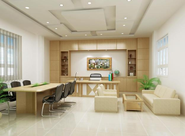 Công ty thiết kế nội thất phòng Giám đốc có phong cách làm việc chuyên nghiệp