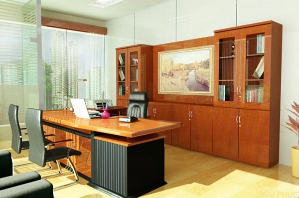 Tủ gỗ văn phòng an toàn, thân thiện