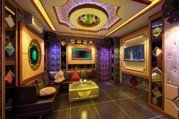 Thiết kế nội thất quán karaoke mang phong cách riêng biệt, ấn tượng