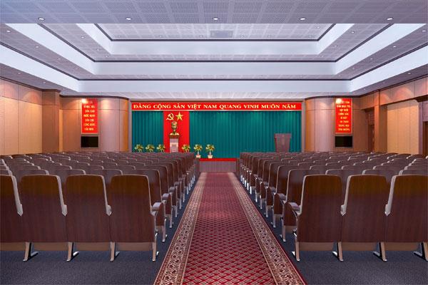 Thiết kế nội thất văn phòng UBND nên sử dụng nội thất linh hoạt, đa năng