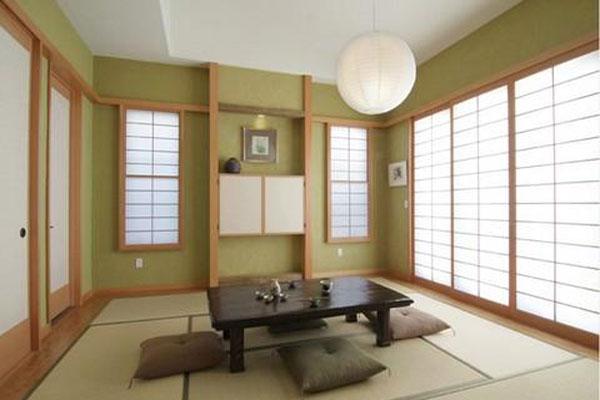Thiết kế nội thất theo phong cách Nhật Bản trong việc lựa chọn màu sắc