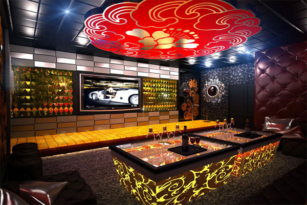 Thiết kế nội thất quán karaoke cần trang trí dễ tạo dấu ấn cho khách hàng