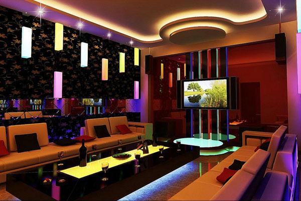 Thiết kế nội thất quán karaoke rẻ, đẹp