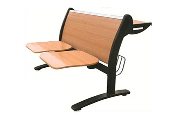 Mẫu ghế phòng chờ bằng gỗ 02
