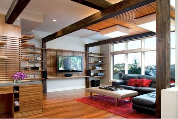 Thiết kế nội thất theo phong cách Nhật Bản với sự linh hoạt