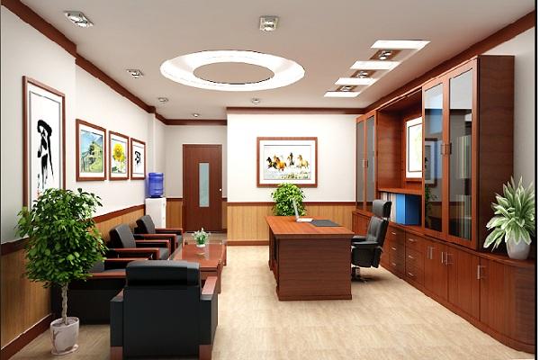 Thiết kế phòng Giám đốc công ty nhà nước uy tín, chuyên nghiệp