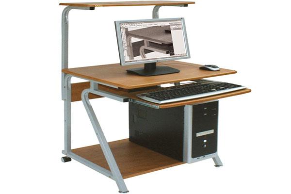 Bàn máy tính BMT97A giá rẻ, thiết kế ấn tượng.