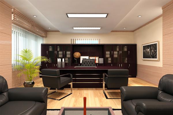 Thiết kế phòng Giam đốc cần chú ý lựa chọn vị trí phù hợp