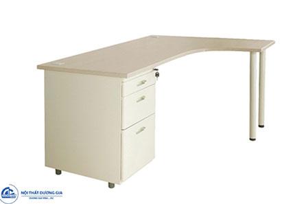 Bàn văn phòng BLP14CT-HS1 giá rẻ, kiểu dáng hình chữ L.
