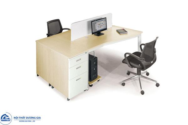 Bàn văn phòng BZCOT14-2 mặt chữ Z cách điệu