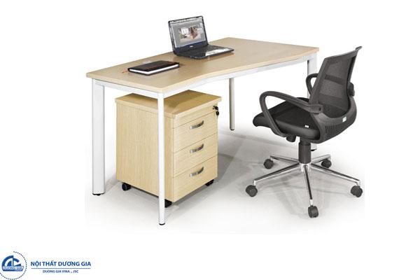 Bàn văn phòng BZT14-CO hình chữ Z tinh tế, hiện đại
