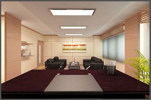 Mẫu nội thất phòng Giám đốc đẹp số 03