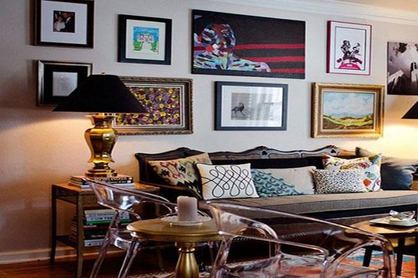 Vật dụng trang trí trong phong cách thiết kế nội thất Retro