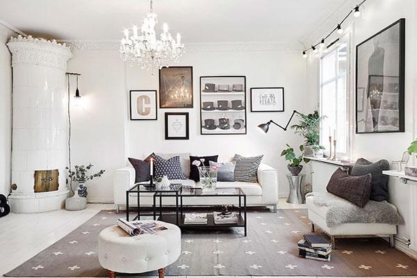 Màu sắc trong phong cách thiết kế nội thất Retro