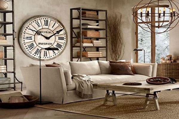 Phong cách thiết kế nội thất Vintage sử dụng những gam màu ấn tượng