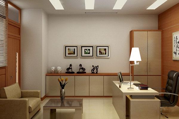 Phòng Giám đốc nhỏ không nên chọn những nội thất kích thước quá khổ