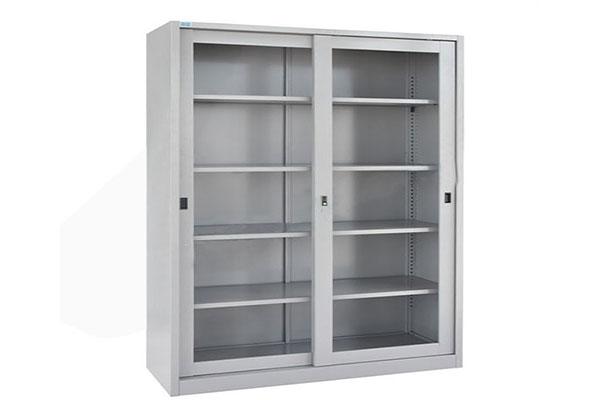 Tủ tài liệu bằng sắt giúp người dùng dễ dàng lau chùi, vệ sinh
