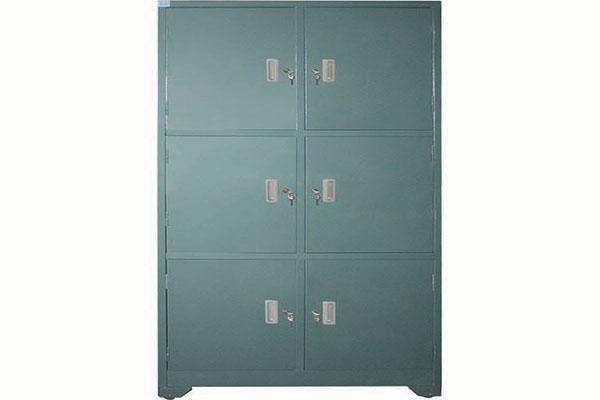 Tủ tài liệu có ngăn khóa riêng mang đến sự an toàn, thuận tiện khi sử dụng