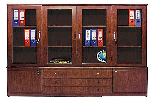 Tủ tài liệu Xuân Hòa được làm bằng gỗ mẫu 03