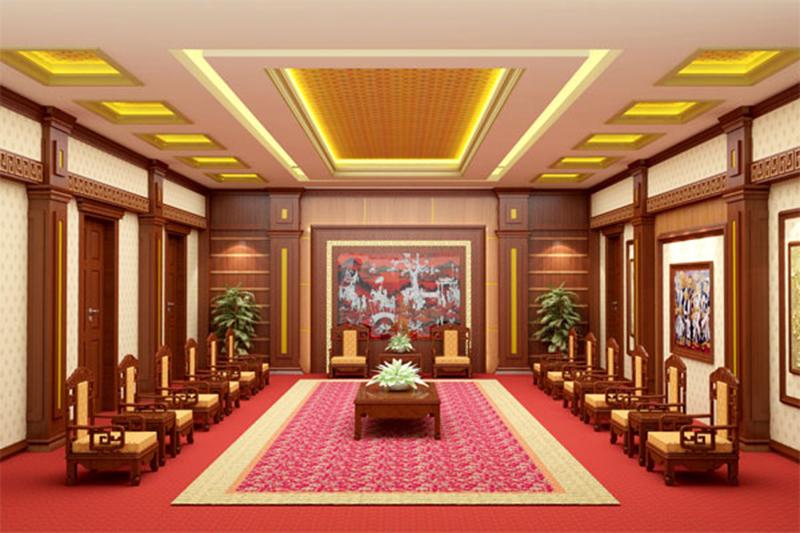 Mẫu thiết kế nội thất phòng khánh tiết 07