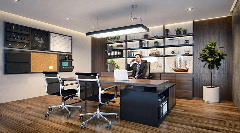 Dịch vụ thiết kế nội thất phòng giám đốc đẹp