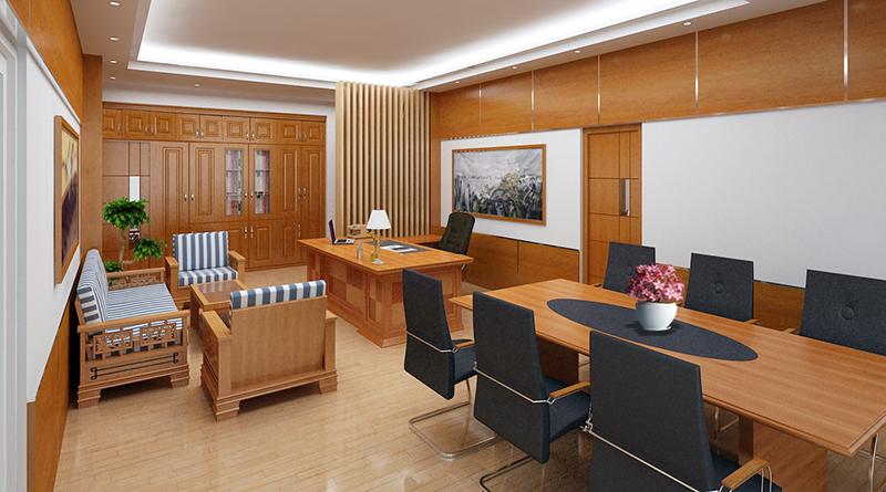 Lựa chọn bàn ghế trong thiết kế phòng giám đốc