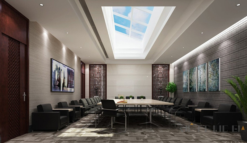 Mẫu thiết kế nội thất phòng họp – 07