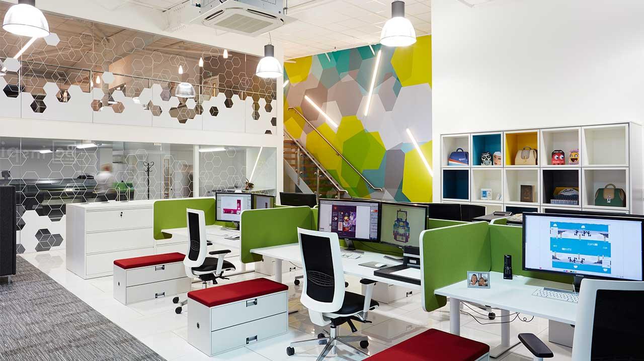Mẫu thiết kế nội thất văn phòng Hòa Phát
