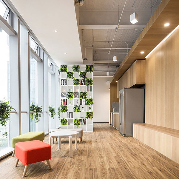 Mẫu thiết kế nội thất văn phòng theo xu hướng mở