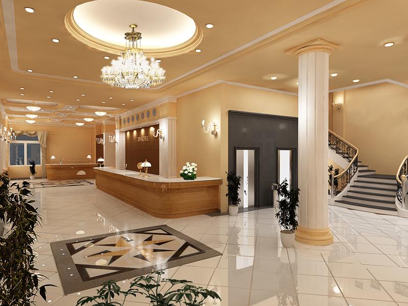 Nội thất sảnh khách sạn