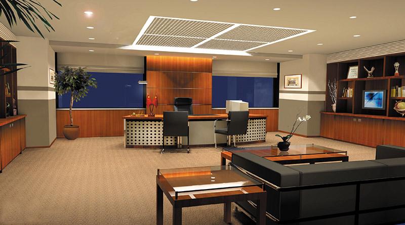 Thiết kế nội thất phòng giám đốc theo phong cách hiện đại mẫu 5