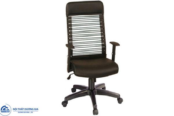Ghế văn phòng GX06B-N chân nhựa hiện đại, giá rẻ