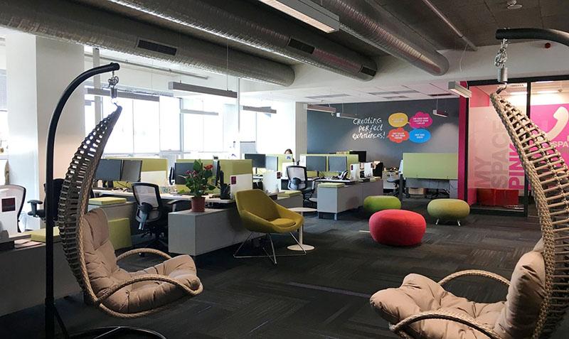 Thiết kế văn phòng tạo không gian đa chức năng ấn tượng