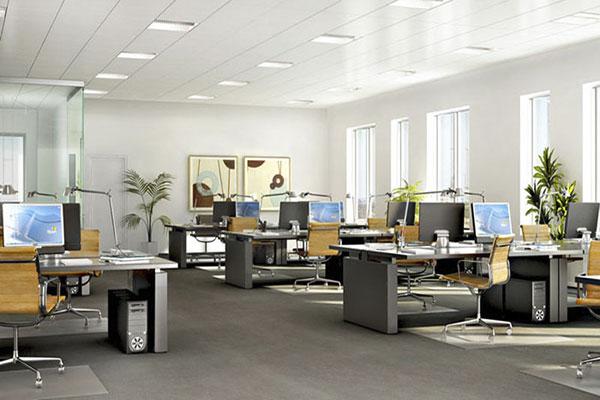 Thiết kế nội thất văn phòng cho tập đoàn lớn cần chú ý tới việc bài trí nội thất khoa học, thẩm mỹ