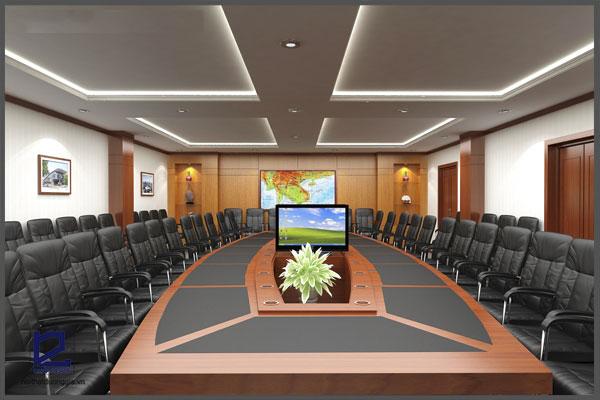 Thiết kế nội thất văn phòng cho tập đoàn lớn phải quảng bá được hình ảnh thương hiệu