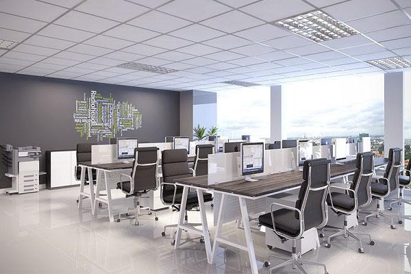 Thi công nội thất văn phòng cần phải tuân theo những nguyên tắc nào?