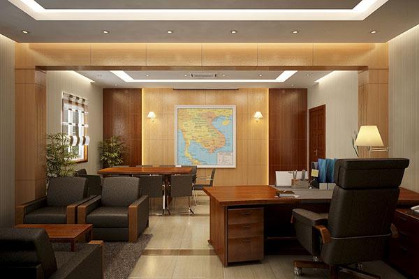 Thi công phải bám sát mẫu thiết kế nội thất văn phòng